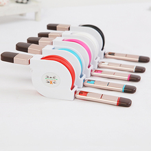 Car Chargers Auto Retractable combination Data cable Apple Atradius Universal USB charger Automobiles Electronics Accessorie
