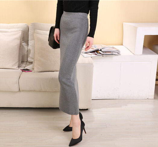 Summer Style Womens Bodycon Skirt High Waist Maxi Skirt Long Midi ...