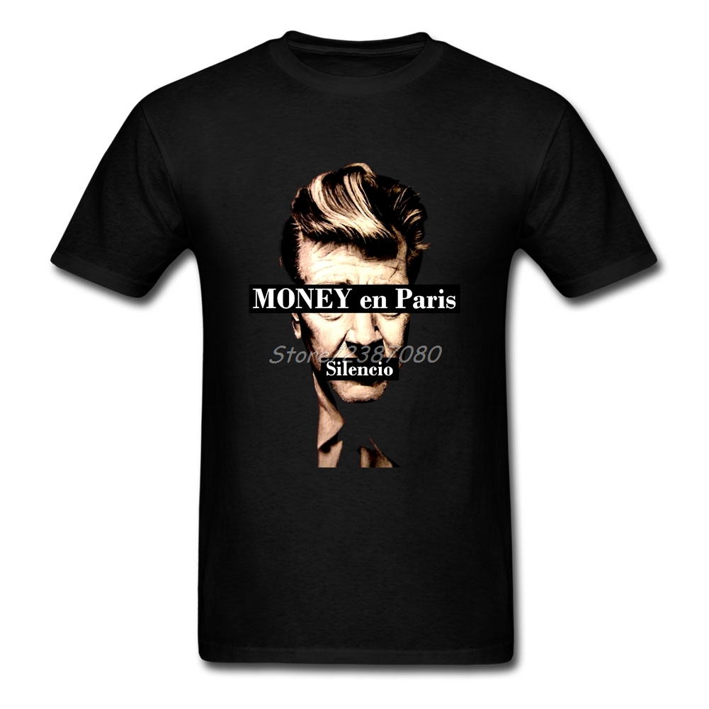 New Style David Lynch T Shirt Rock Mens T Shirts Fashion 2017 Cotton Crewneck 3XL Short Sleeve Twin Peaks TV Men T-shirt