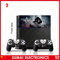 Wholesale 1pcs Console Skin And 2pcs Controller Sticker For PlayStation 4 PS4