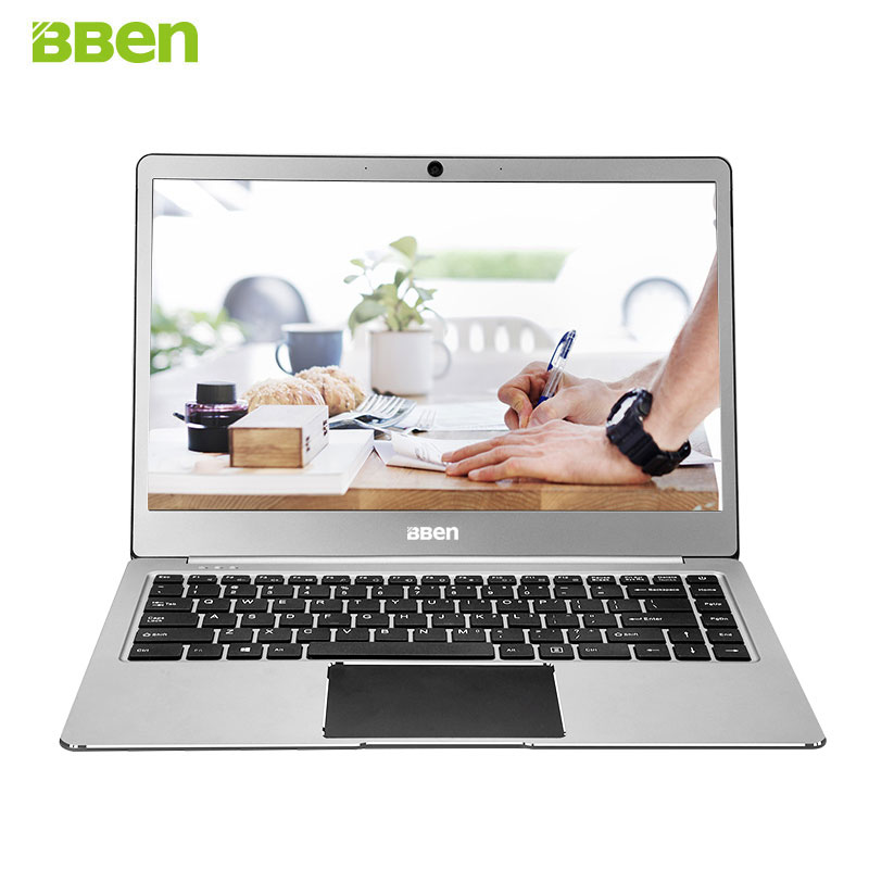 BBEN N14W Laptop Netbook Windows 10 Intel Celeron N3450 Quad Core 4GB RAM 64G ROM WiFi BT4.0 Type C 14.1 Inch Ultraslim