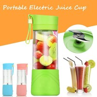 Mini Portable USB Electric Fruit Juicer Machine Rechargeable Smoothie Maker Blender Shake And Take Juice Slow