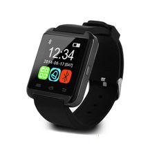 Лучшие Smartwatch Bluetooth Smart часы U80 для iPhone IOS Android смартфон Носите часы Носимых устройств умные часы PK U8 GT08 DZ09 w8