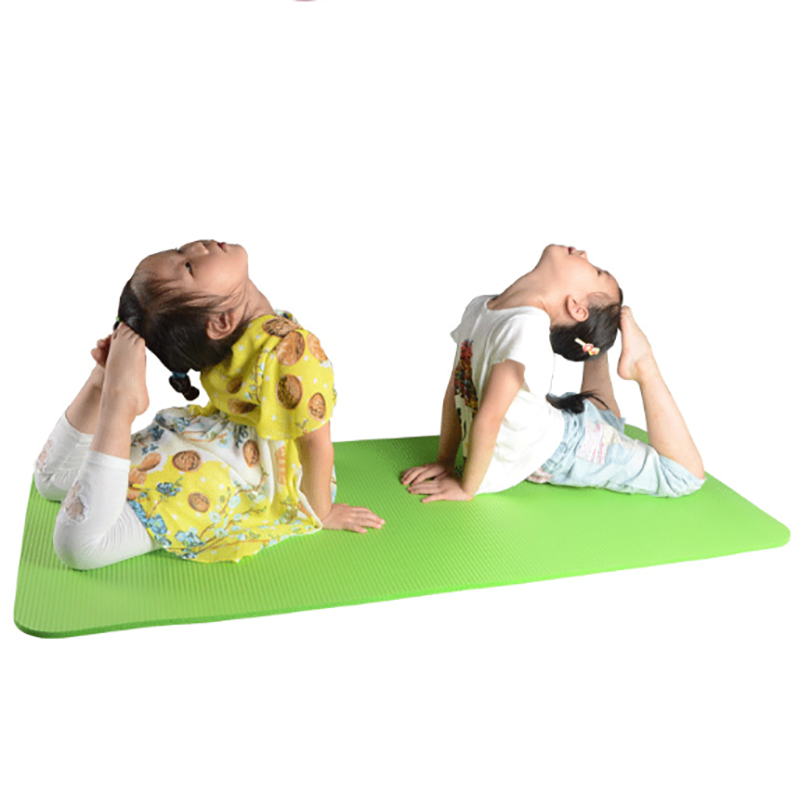 10 MM Thickness Kids Yoga Mat NBR Foam Exercise Mat Yoga For Kids Babies Active & Calm Toddlers Children Family Picnic Blanket