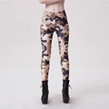 New 9071 Sexy Girl Mafia Army Desert CAMO Camouflage Prints Elastic Slim Fitness Workout Women Leggings Pants Trousers Plus Size