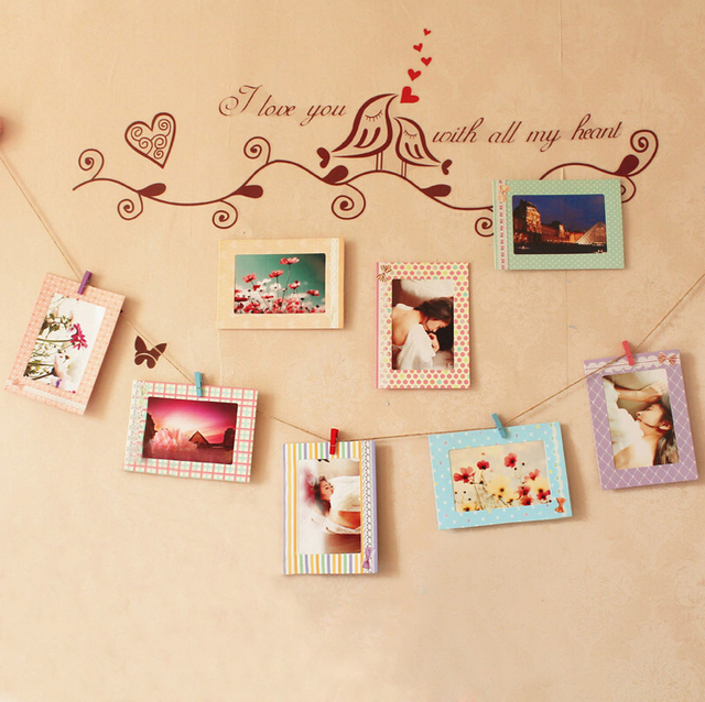 8pcs 6 Inch Creative Gift Home Decoration DIY Butterfly Wall Hanging ...