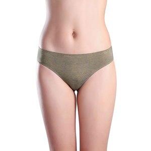 Image 3 - Wealurre 6 Stuks Ondergoed Vrouwen Lage Taille Naadloze Katoenen Slips Sexy Dames Solid Slipje Lingerie Hot Koop Bikini Onderbroek