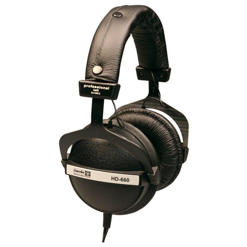 Pro Studio Moniteur Casque Superlux HD660 Auriculares Contrôle Dynamique Hifi Casques Enregistrement Casque Stéréo DJ Écouteur