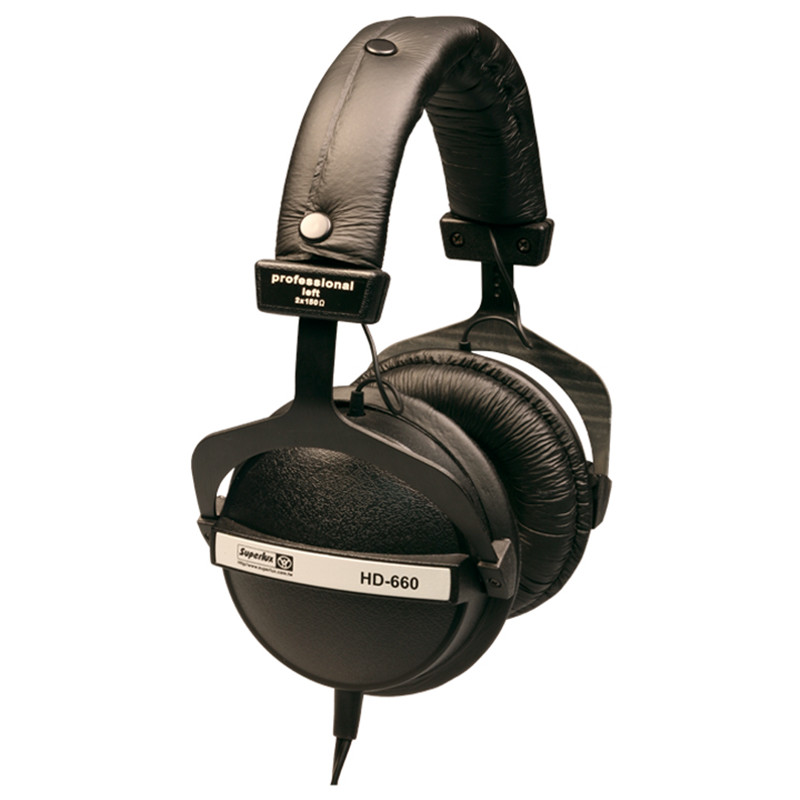 Pro Studio Monitor Headphone Superlux <font><b>HD660</b></font> Auriculares Dynamic Monitoring Hifi Headphones Recording Headset Stereo DJ Earphone image