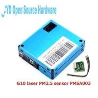 PLANTOWER PMSA003 Laser PM2.5 DUST SENSOR A003 High precision laser dust concentration sensor digital dust particles A003 +cable