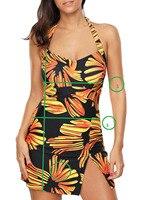 TCBSG 2018 Hohe Taille Print Bikini Set Retro Fringe Sexy Plus Size Badeanzug Blumenbadebekleidung Stappy Badeanzug Schwimmen Kostüm