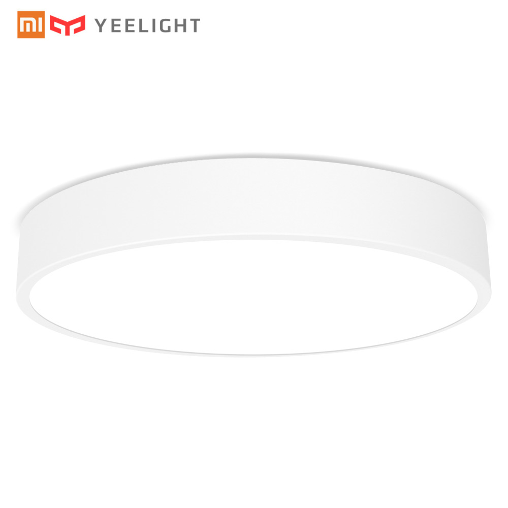 Xiao mi лампа Yeelight умный светодио дный светодиодный потолочный светильник пыли сопротивление беспроводной Dim mi ng пульт дистанционного управле...