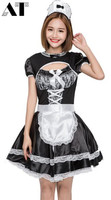 Sexy Maid Costume Cosplay Maid Uniform Halloween Costumes For Women