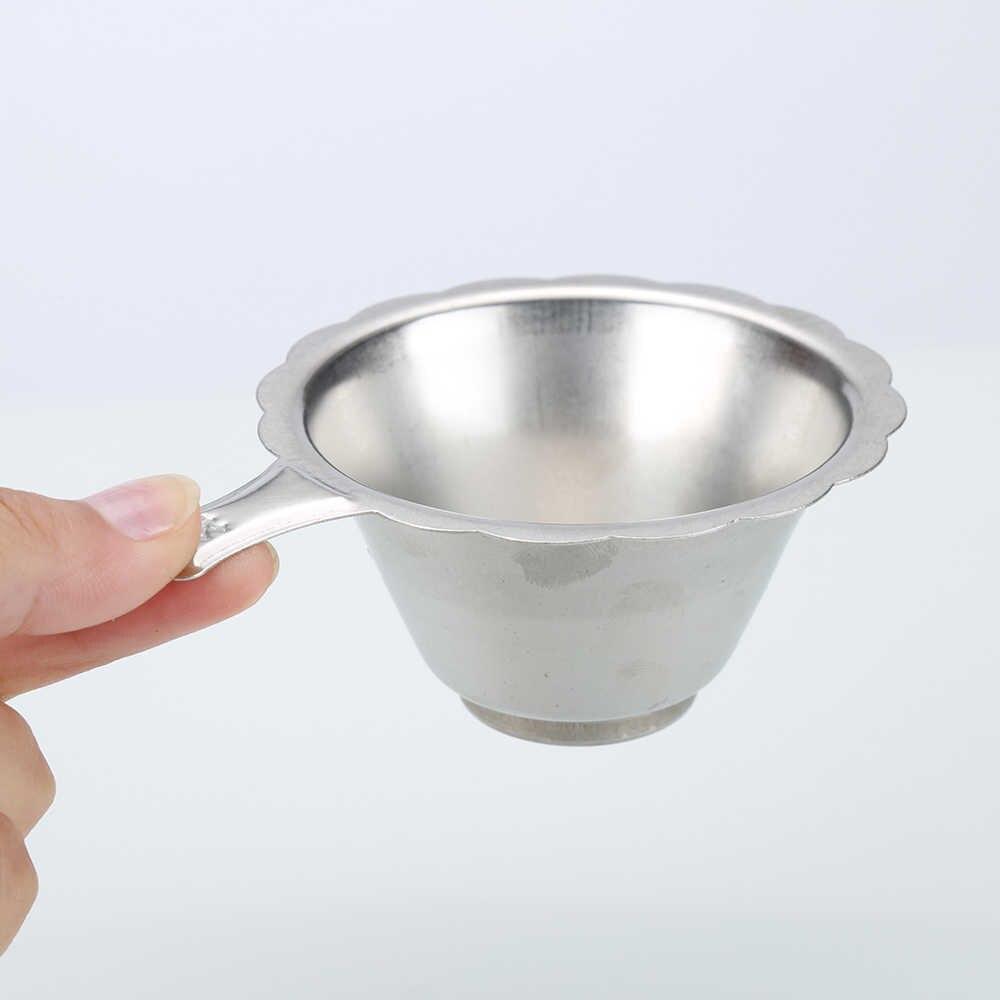再利用可能なステンレス鋼の茶注入器バスケット罰金メッシュフィルター茶葉葉スプーンキッチンアクセサリー