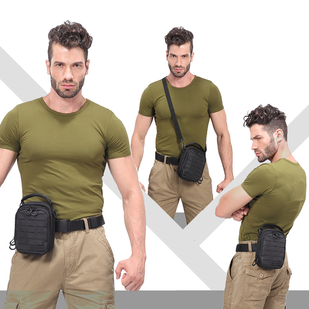 2018 Nový NITECORE NUP10 Nylon Ferramentas Multifunkční denní balíček Camping & Pěší turistika Outdoor Man Man Bag (Black / Grey)