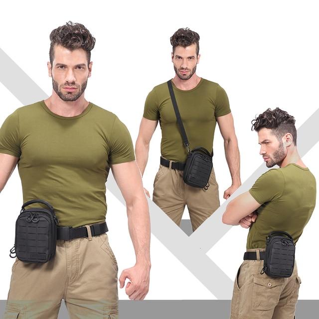 2018 New NITECORE NUP10 Nylon Ferramentas Multifunctional Daily Package Camping & Hiking Outdoor Travel Man Tool Bag(Black/Grey)