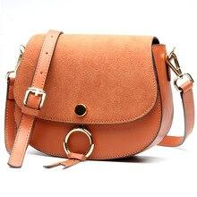 2017 Brand Designer Mini Women Bag High Quality Genuine Leather Shoulder Bags Spring Small Casual Handbag Brown Blue Color