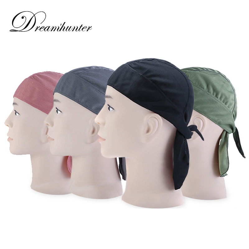 Geometric Printing Multi-function Cycling Scarf Headwear Sporting Headband Cap