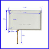 ZhiYuSun 2PCS Lot Compatible HLD TP 3046 8 Inch 4 Wire Resistive Touch Panel TOUCH SCREEN
