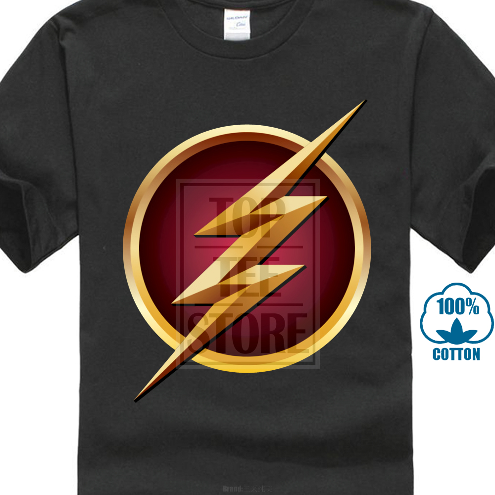 Glowing Flash Logo T-Shirt Captain America Falcon T Shirt For Husband Best Gift Might Tshirt Graphic Tees Men'S Tops & Tees image
