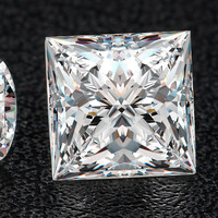 6*6 мм Принцесса Cut Белый Камень Муассанит Круглый Муассанит Diamond 1,18 catart Муассанит