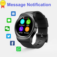 Купить с кэшбэком 2019 smart wirstWatch Heart Rate sleep Monitor Facebook whatsapp notification men watch band for IOS huawei sumsang xiaomi phone