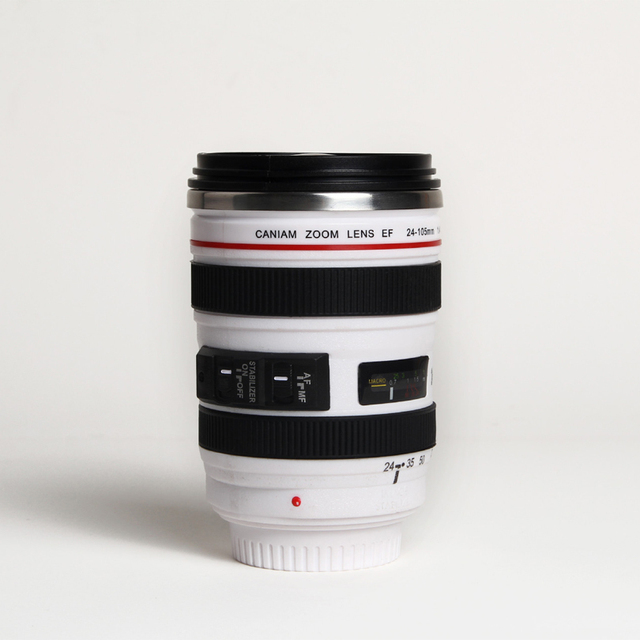 400 ml Unique Camera Lens Drinking Glass 2