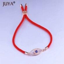Evil Eye Bracelet For Men Women Adjustable Black Red Rope Bracelets Banlgle couple bracelet jewelry bracciale donna pulsera rev donna ulrich rope of hope