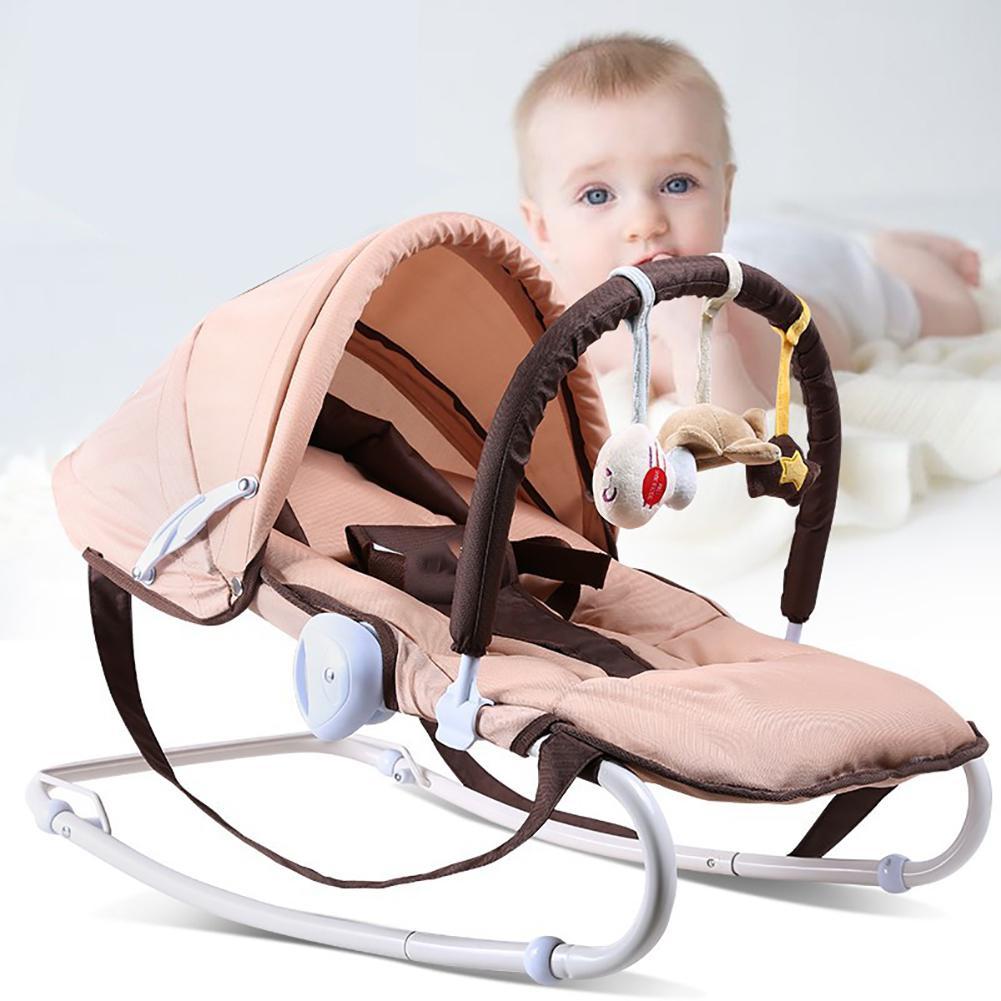 Kidlove Multi-Function Baby Rocking Chair Adjustable Newborn Coax Sleeping Pillow Cradle Chair Bed