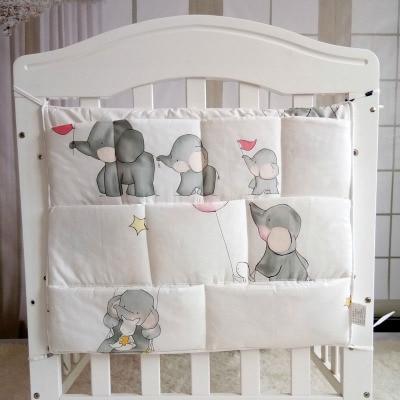 Baby Cribs Baby Stroller Bag Organizer Bedding Set Baby Hanging Basket Storage Diaper Bag Many Colors