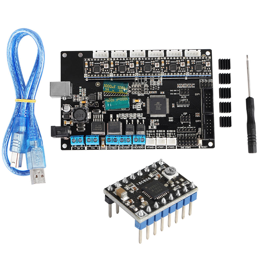 Replacement Motherboard Stable 4Layers PCB Controller Board 3D Printer Mainboard For TriGorilla Integrate Official HardwareReplacement Motherboard Stable 4Layers PCB Controller Board 3D Printer Mainboard For TriGorilla Integrate Official Hardware