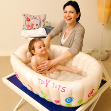 New Baby bath tub can be folded large inflatable pool basin