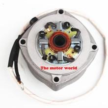 Электрический стартер для 2-х тактный двигатель с воздушным охлаждением 49cc карман велосипед мини Байк мини ATV 49cc мотоцикл ручной Электрический миксер для теста стартера