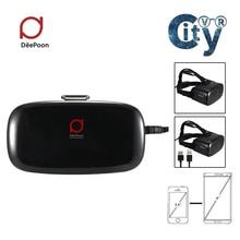 ทั้งหมดในหนึ่งDeePoon E2 3D VRแว่นตาความจริงเสมือนAMOLEDหน้าจอOtca-Core WiFi V4.0 2กรัม/8กิกะไบต์75เฮิร์ตAPIเกมHDMI vrกล่อง