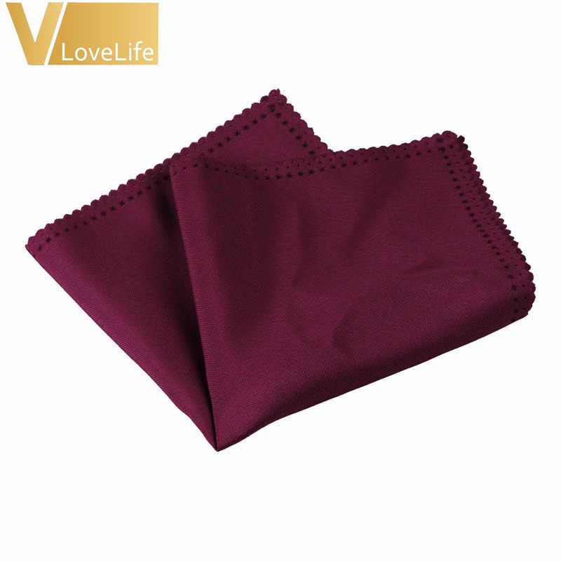 50 pcs 30x30 ซม. ผ้าลินินโพลีเอสเตอร์ผ้าเช็ดปากงานแต่งงานตารางผ้าเช็ดปากผ้าเช็ดหน้าผ้า Diner งานเลี้ยงตกแต่งบ้านขายส่ง