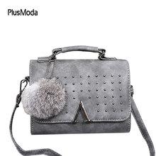 Luxury Handbags Women Bag Designer Women Leather Handbag Rivet Satchels Shoulder Bags Ladies Women's Handbags Messenger Bags