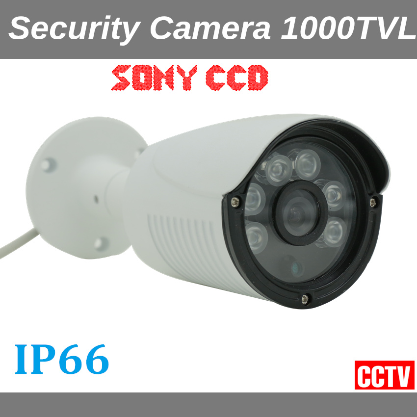 Sony CCD 1000TVL Security Camera IP66 Waterproof Outdoor CCTV Camera Home Security cctv system C11-1000