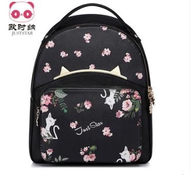 Princess sweet lolita bag Summer and spring Korean version leisure Institute wind girl backpack print student bag 170983