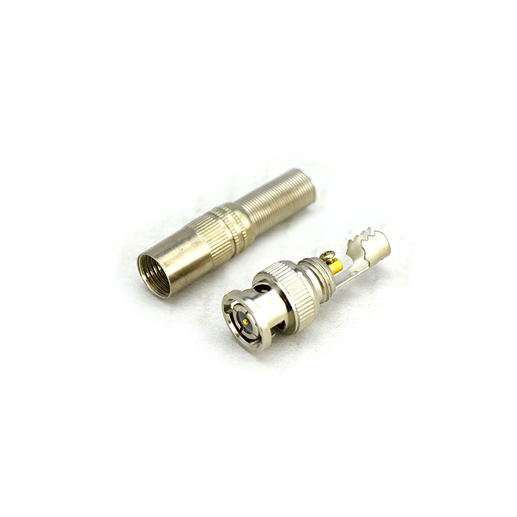 Gold BNC Male Video Plug Coupler Connector to screw for RG59 Cable Adapter 20pcs 20pcs t plug male