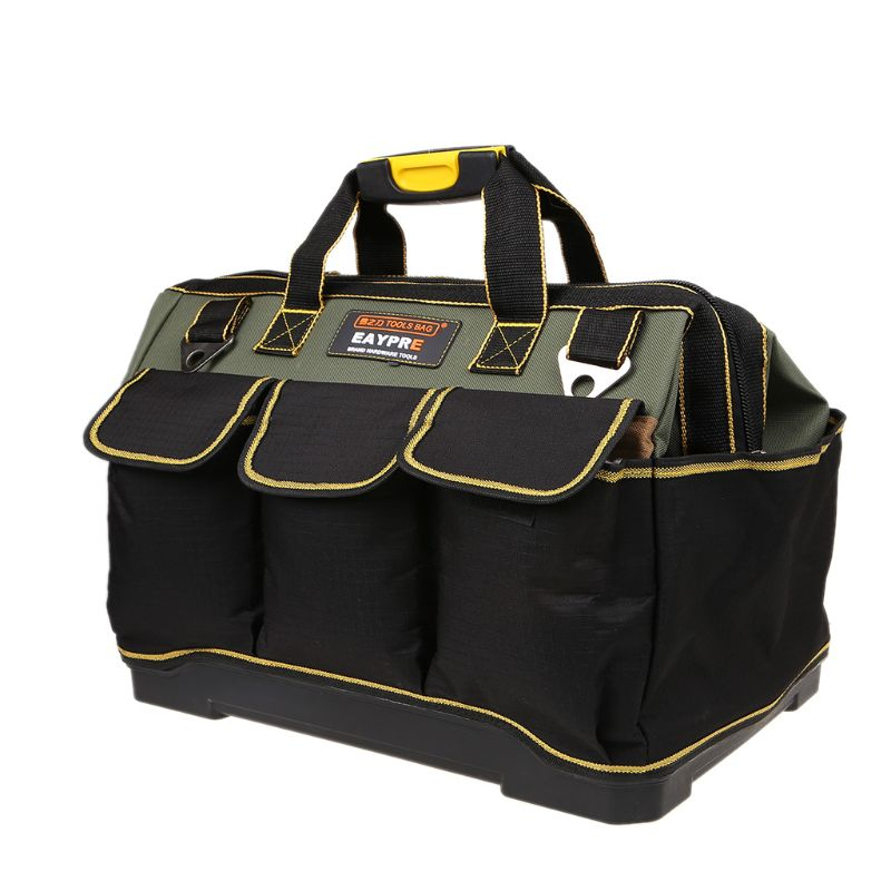 Waterproof Heavy Duty Oxford Tool Bags Storage Organizer Pouch Case Large Capacity Electrician Bag