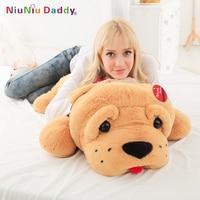 2018 Niuniu Daddy Plush Toy Big Dog 47 Giant Stuffed Puppy Dog Soft Extremely Plush Animal Toy Pillow