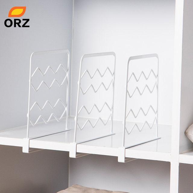 Online-Shop ORZ 3 STÜCKE Verdicken Schrank Regal Teiler Kleidung ...