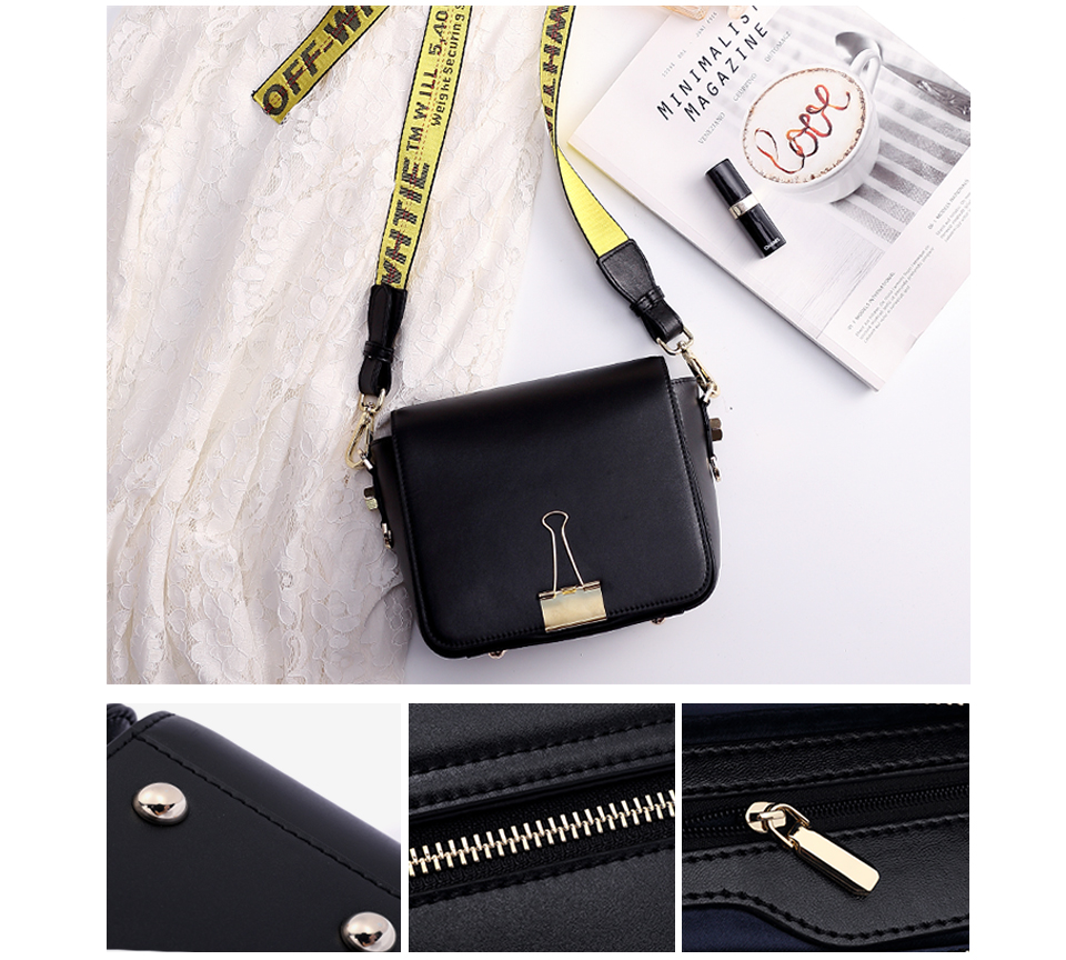 HTB1UccLKk9WBuNjSspeq6yz5VXaC 2018 Fashion Bag for lady Off White Bag