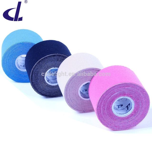 America's Pick Kintape Waterproof 5cmx5m Kinesiology tape (4rolls/set) Exercise Therapy Pain Cure tape Athlete Sports Protection