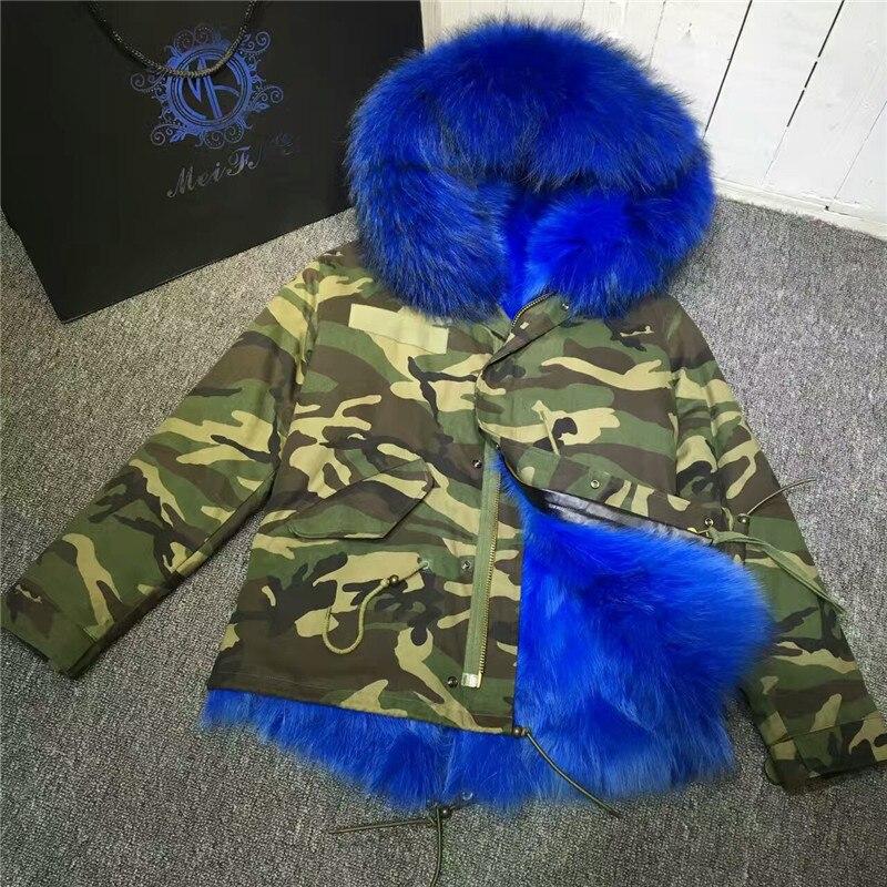 À L'intérieur Femmes Outwear Fourrures De Renard Réversible Épais Réel Fourrure Manteau D'hiver Chaud Parka Monsieur Veste TwtqdzId