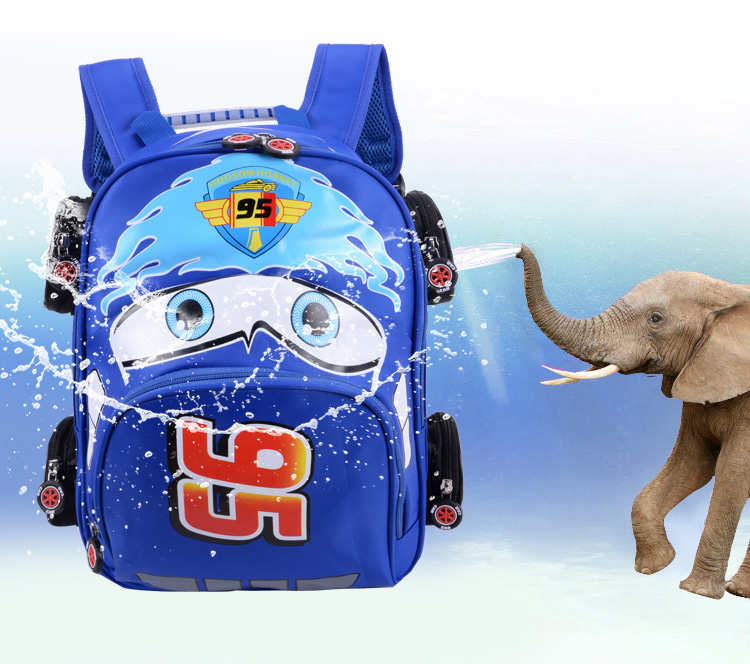 2018 New Cartoon 95 Car Boy Girl Baby Kindergarten Nursery School bag Bagpack Teenager Schoolbags Canvas Kids Student Backpacks 55