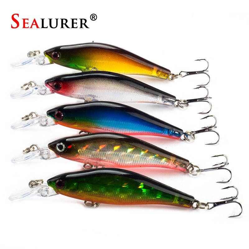 sealurer-5-pcs-lote-iscas-de-pesca-8-cm-6g-5-cores-crankbaits-swimbaits-jerkbaits-sinking-minnow-pesca-de-robalo