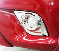 Free Shiping Fog Lamp Cover For Hilux Revo High Quality Abs Chrome Fog Light Cover