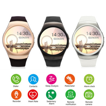 Fully Smart Watch for Android/IOS Bluetooth Top Smart Watch SIM Card HeartRate Monitor Watch Clock Mic Anti Lost Smartwatch