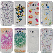 AKABEILA TPU Phone Case For Samsung Galaxy J1 J3 J5 J7 2016 SM-J100F J100  J120 SM-J500F J510 J300 J310 J710 J710F Cover Bag
